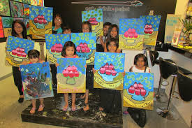 painting parties for kids kids cl paintlv design dine eat drink paint dine photo