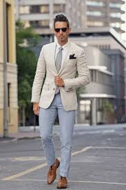 Colors That Match Light Blue Pants 1 Look 2 Ways With Trenery Blazer Outfits Men Mens