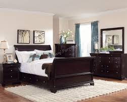 ... Astounding Dark Wood Bedroom Furniture Sets ...