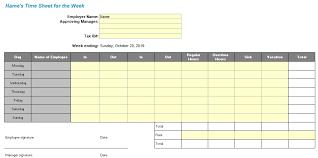 Free Employee Attendance Sheet Template Excel Tmp