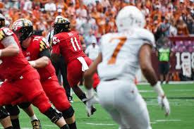 Maryland Terrapins Football Depth Chart Kasim Hill Is Officially Maryland Footballs Starter But