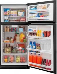 refrigerator 18 cu ft. fftr1814ts refrigerator 18 cu ft w