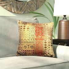 furniture throw pillows couch brown leather accent decorative target ashley