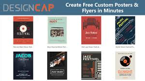 How To Make A Flyer Online Free Designcap Free Online Software To Create High Quality