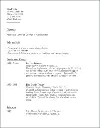 Daycare Worker Resume Enchanting Childcare Resume Examples Sample Professional Resume
