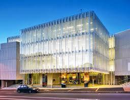 office facade. aucklandu0027s glittering green geyser office wins new zealand architecture award facade e