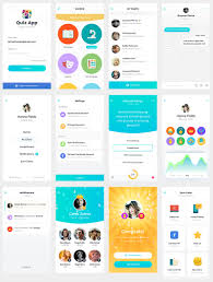Quiz Design Quiz App Design Mobile App Development App Design