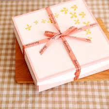 Decorative Cookie Boxes Free shipping bakery package pink white butterfly decoration small 72