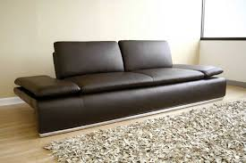 modern leather couch luxury in home — home ideas collection