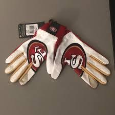 Nike Nfl Stadium Gloves Size Chart Nike Sf 49ers San Francisco Field Stadium Gloves L Nwt