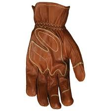 mcr safety mu3624 l drivers unlined leather glove large brown mustang