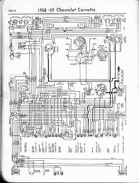 57 65 chevy wiring diagrams 1958 corvette