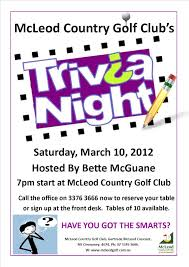 trivia night flyer templates quiz night poster template kays makehauk co