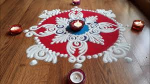 Diwali Rangoli Designs Sanskar Bharti Quick And Easy Sanskar Bharti Rangoli Designs With Colours