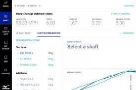 Mizuno Shaft Optimizer Chart 2019 Shaft Optimizer 3d Now At Fitting Centres Mizuno Golf