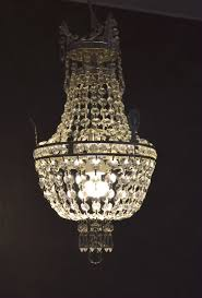 Messing Antik Deckenlampe Versilbert Korblüster Messing