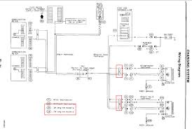 i have a 94 sentra the alternator and brake lights flash on and 98 nissan sentra radio wiring diagram full size image
