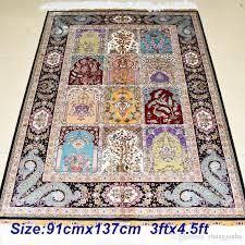 3 x 4 area rugs elegant mingxin carpet 3 4 5 feet four seasons design