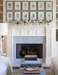 Art Above Fireplace Design Ideas