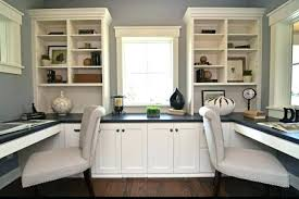 double office desk. Countertop Desk For Office Stylish Built In Double Safe Haven
