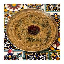 Image result for عکس غذای پیتای باباغنوش