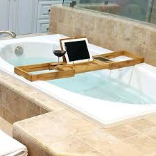 bathtub tray caddy wonderful expandable bathtub chrome tub valet expandable tub adjule bath dark wood mesmerizing