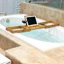 bathtub tray caddy wonderful expandable bathtub chrome tub valet expandable tub adjule bath dark wood mesmerizing