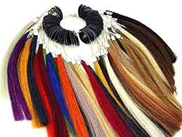 Hair Color Wheel Chart Universal Hair Extensions Color Wheel Rings Chart Swatches By Mega Made Inc