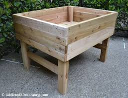 elevated garden beds. Raised Bed · 15 Outdoor Projects For Your Back Yard Elevated Garden Beds C