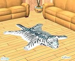 fake tiger rug real tiger rug real tiger rug fur faux white skin with full head