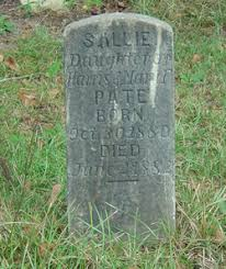 Sallie Pate (1880-1882) - Find A Grave Memorial