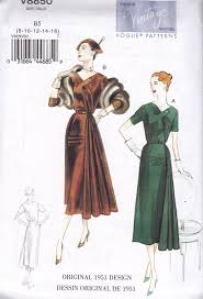 Retro Dress Patterns Magnificent Vogue Sewing Pattern Misses Vintage Dress Belt à Sizes 48 48 V484850