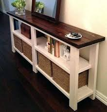 tall entry table. rustic entryway table tall skinny entry narrow long