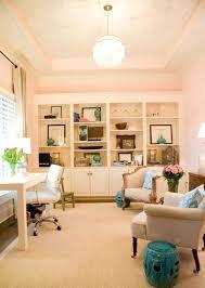 Colorful feminine office furniture Diy Elegant Home Art Decor Elegant Home Office Elegant Home Office Designs With Black Brown And