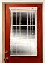 half door blinds. MagneBlind Magnetic Mini Blinds For Metal Door (Half-Length) 25\u0026quot; Half R