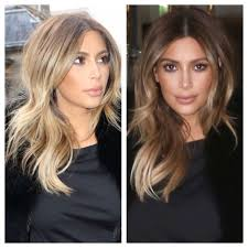 Kim Kardashian: the rooted buttery blonde. Love this color | Hair color  blonde highlights, Cool blonde hair, Hair styles