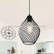 black wrought iron chandelier with crystals vintage style industrial pendant lights balcony loft black wrought iron chandelier