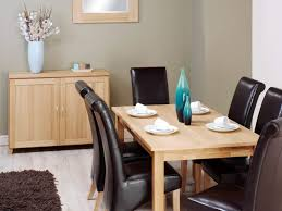 maple wood dining room table. awesome dining room set design small space bizezz cool together maple wood table with espresso leather modern chair as well cabinet plus lami
