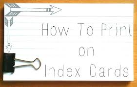 Index Cards Word Template Microsoft Word Index Card Template Puntogov Co