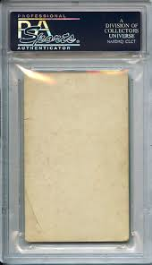 Lot Detail - Extraordinarily Scarce 1952 Globe Printing San Diego Padres  Lonnie Summers PSA 2 Good The Only Example Ever Graded Former Negro Leaguer