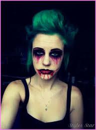 pretty zombie makeup photo 1