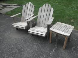 pressure clean wood outdoor furniture 6