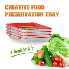 Instant <b>Clever Tray Creative</b> Kitchen Storage Container Fresh Food ...