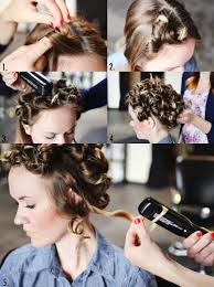 Pin Curl Hair Style how to style flat iron curls a beautiful mess 7007 by stevesalt.us