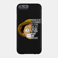 One Piece Anime Size Chart Luffy Quote