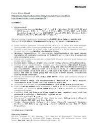 System Administrator Resume System Administrator Cv Pdf Noxdefense Com