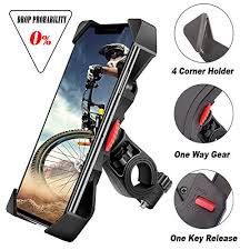 Black Sky-Welle Motorcycle and <b>Bicycle</b> Cell Phone Holder ...