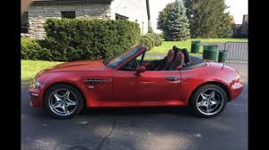 BMW Convertible 2001 bmw m roadster : Does this Very red 2001 BMW Z3 M Roadster make you blush? - YouTube