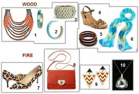 collage feng shui. Wood, Fire Collage, Feng Shui Your Wardrobe, How To Accessorize, Collage A