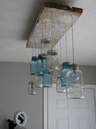 cottage mason jar chandelier. FOUND FREE \u0026 FLEA / A VERY MODEST COTTAGE: D.I.Y Mason Jar Chandeliers Cottage Chandelier C